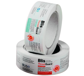Rect Paper Labels - in rolls